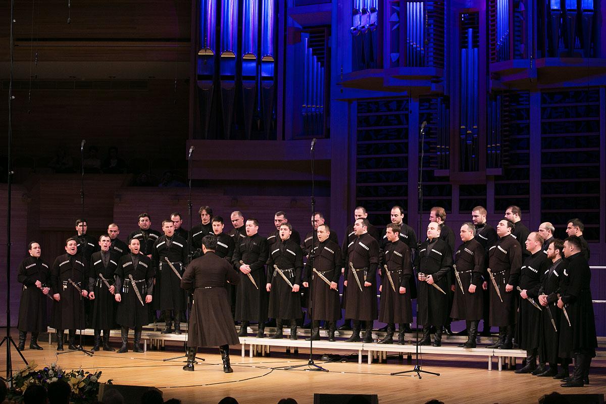 Съемка концерта